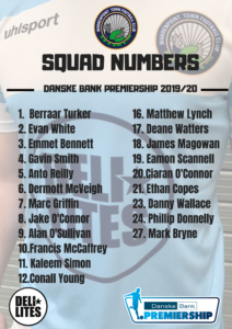 Squad Numbers